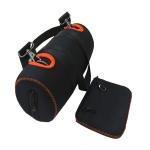 For JBL Xtreme 2 Bluetooth Speaker Bag Portable Storage Bag Protective Cover(Black)