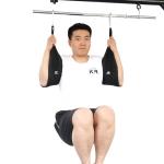 KR kr-037 Pull-Up Horizontal Bar Suspension Arm Abdominal Muscle Training Belt(Black)
