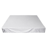 Waterproof And Dustproof Cover For Bathtub Swimming Pool Table And Chair Falling Leaves Protection Cover, Size: 231x231x90cm(Silver)