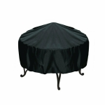 Outdoor Garden Grill Cover Rainproof Dustproof Anti-Ultraviolet Round Table Cover, Size: 148x60cm