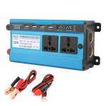 Carmaer 12V to 220V 1200W Double Cigarette Lighter Car Double Digital Display Inverter Household Power Converter