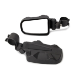 Pair All-terrain Vehicles Wide Field View 1.75 inch Rearview Mirror Side Reflector Mirror for UTV / ATV
