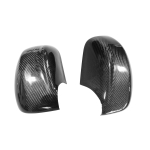 2 PCS / Set Carbon Fiber Car Rearview Mirror Decorative Sticker for Nissan GTR R35 2008-2020, Left and Right Driving Universal