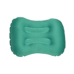 Outdoor Camping Trip Foldable Portable Inflatable Pillow Nap Waist Pillow, Specification:Press to Inflate(Emerald Green)