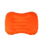 Outdoor Camping Trip Foldable Portable Inflatable Pillow Nap Waist Pillow, Specification:Inflate with Your Mouth(Orange)