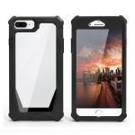 Stellar Space PC + TPU 360 Degree All-inclusive Shockproof Case For iPhone 8 Plus / 7 Plus / 6 Plus / 6s Plus(Black)