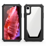 Stellar Space PC + TPU 360 Degree All-inclusive Shockproof Case For iPhone XR(Black)
