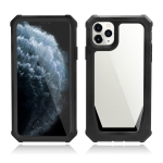 Stellar Space PC + TPU 360 Degree All-inclusive Shockproof Case For iPhone 11(Black)