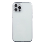 Transparent Stepless Fine Hole Glass Protective Case For iPhone 12 Pro Max