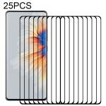 For Xiaomi Mi Mix 4 25 PCS 3D Curved Edge Full Screen Tempered Glass Film(Black)