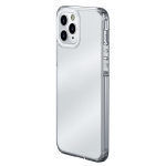 wlons Ice-Crystal Matte PC+TPU Four-corner Airbag Shockproof Case For iPhone 13 Pro Max(Transparent)