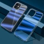 wlons Dazzle Colour TPU + PC Transparent Protective Case For iPhone 13 mini(Blue Light)