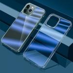 wlons Dazzle Colour TPU + PC Transparent Protective Case For iPhone 13 Pro(Blue Light)
