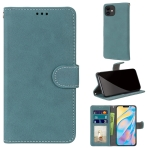 Retro Frosted Horizontal Flip PU Leather Case with Holder & Card Slots & Wallet & Photo Frame For iPhone 13 mini(Blue)