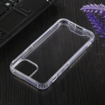 Four-corner Shockproof Transparent TPU + PC Protective Case For iPhone 13 mini