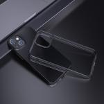 hoco Light Series TPU Soft Phone Protective Case For iPhone 13 Mini(Black)