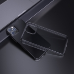 hoco Light Series TPU Soft Phone Protective Case For iPhone 13 Pro Max(Black)