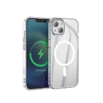 hoco Magnetic Series Airbag Anti-fall Protective Case For iPhone 13(Transparent)