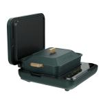 Original Xiaomi Youpin LIVEN Electric Shabu Shabu Hot Pot with BBQ & Detachable Baking Pan, CN Plug (Green)