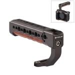 PULUZ Arri Camera Top Handle Cold Shoe Handgrip for Mirrorless Camera Cage Stabilizer (Bronze)