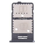 SIM Card Tray + SIM Card Tray + Micro SD Card Tray for Samsung Galaxy M31s SM-M317 (Black)