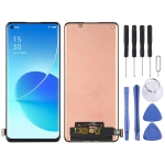 Original AMOLED Material LCD Screen and Digitizer Full Assembly for OPPO Reno6 Pro 5G / Reno6 Pro+ 5G