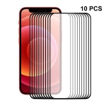 10 PCS ENKAY Hat-Prince Full Glue 0.26mm 9H 2.5D Tempered Glass Screen Protector Full Coverage Film For iPhone 13 Pro Max