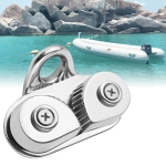 Marine Sailboat 316 Stainless Steel Pulley Rope Clamp