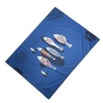 Outdoor Color Beach Mat Waterproof Picnic Mat, Size:1×1.4m(Fish Pattern)