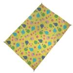 Outdoor Color Beach Mat Waterproof Picnic Mat, Size:1×1.4m(Fun Cartoon 03)