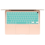 10 PCS Laptop Dust-Proof Waterproof Keyboard Film For MacBook Air 13.3 Inch A2337 2020 US Version (Clover)