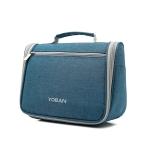 YOBAN Travel Outdoor Multifunctional Large-Capacity Washing Storage Bag Hanging Waterproof Cosmetic Bag(Seawater Blue)