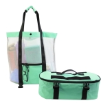 STSNB-001 Outdoor Leisure 2 in 1 Detachable Beach Storage Bag Insulation Bag(Green)
