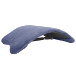 Electric Heating Lumbar Support Pad Lumbar Spine Stretcher Massager Spine Correction Backrest Board(124 big electric lumbar vertebrae)