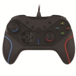 Wired Gamepad For Nintendo Switch / Android / iOS / PC(S818W Left Blue Right Red)