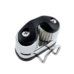 Stainless Steel Ball Rope Clamp With Guide Ring Automatic Rope Clamp Boat Accessories Stainless Steel Guide Ring