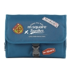 Msquare Travel Suit Toiletry Bag Cosmetic Storage Bag, Colour: Three-fold Blue