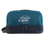 Msquare Travel Suit Toiletry Bag Cosmetic Storage Bag, Colour: 2-layer Dry&Wet Separation Blue(Classic)