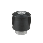 Aluminum Conversion Joint M22 / 14 Cleaning Machine Water Pipe Adapter For Karcher