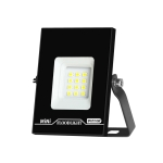 10W LED Projection Lamp Outdoor Waterproof High Power Advertising Floodlight High Bright Garden Lighting(Cold White Light)