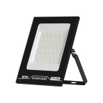 30W LED Projection Lamp Outdoor Waterproof High Power Advertising Floodlight High Bright Garden Lighting(Cold White Light)