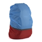 2 PCS Outdoor Mountaineering Color Matching Luminous Backpack Rain Cover, Size: L 45-55L(Red + Blue)