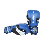 LIHUANG S1 Fitness Boxing Gloves Adult Sanda Training Gloves, Size: 6oz(Blue)