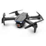 E99 Max 2.4G WiFi Foldable RC Drone Quadcopter Toy(Black)