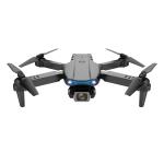 E99 Max 2.4G WiFi Foldable 4K HD Camera RC Drone Quadcopter Toy, Dual Camera (Black)