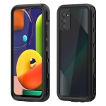 For Samsung Galaxy A02s RedPepper Shockproof Waterproof PC + TPU Protective Case(Black)
