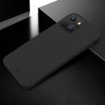 X-level Wing Series Shockproof Ultra Thin Matte Protective Case For iPhone 13 mini(Transparent Black)