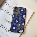 Thickened TPU Shockproof Protective Case For iPhone XS Max(Flower)