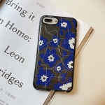 Thickened TPU Shockproof Protective Case For iPhone 8 Plus / 7 Plus(Flower)