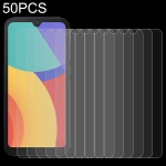 For Alcatel 1L 2021 50 PCS 0.26mm 9H 2.5D Tempered Glass Film
